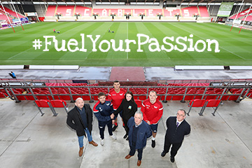 #FuelYourPassion with the Scarlets and Welsh Beef