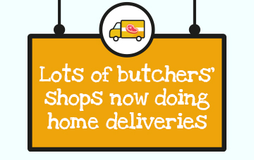 Butchers step up to the plate with increase in home delivery services