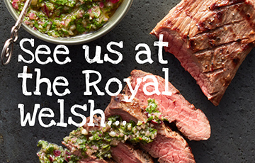 PGI Welsh Lamb and Beef at the Royal Welsh Show