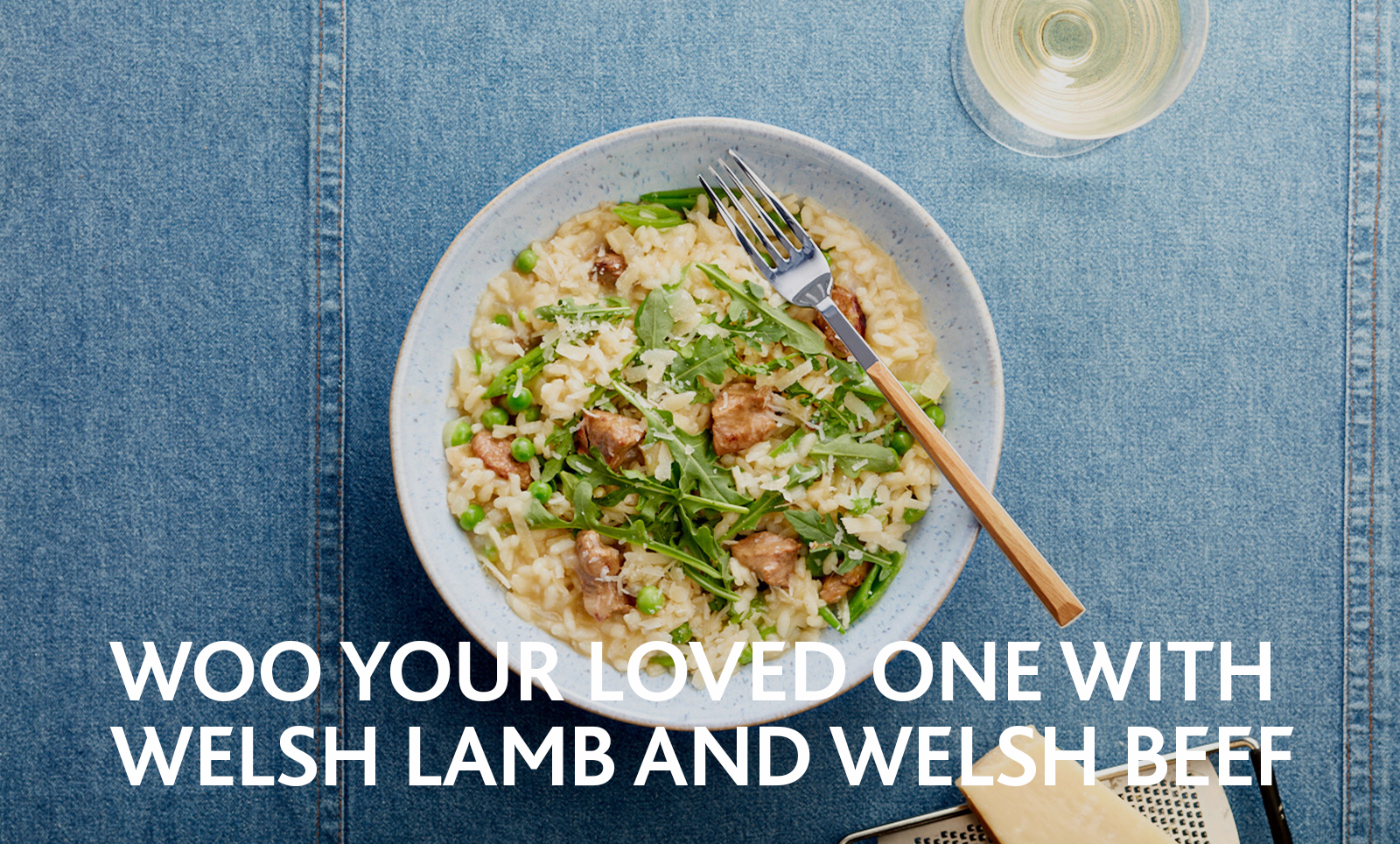 Woo your loved one with Welsh Lamb and Welsh Beef