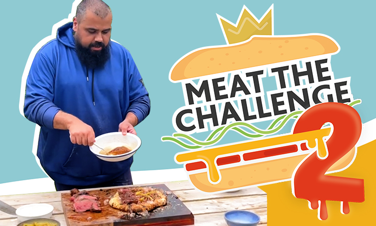 Meat the Challenge returns and it's bigger and meatier than ever!