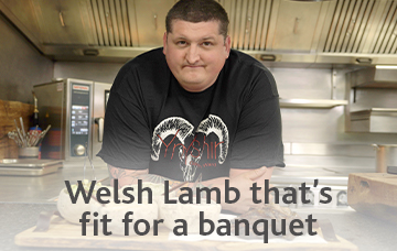 Welsh Lamb that's fit for a banquet