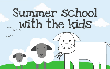 Summer school with the kids